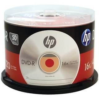 Hp Dm16050Cb 4.7Gb 16X Dvd-R (50-Ct Cake Box Spindle)|https://ak1.ostkcdn.com/images/products/is/images/direct/1df0bbddf9acbc73a161427292750cee8198e79c/4.7Gb-16X-Dvd-R-50Pk.jpg?impolicy=medium