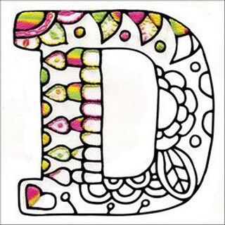 """D - Design Works/Zenbroidery Stamped Embroidery 5""""X5"""""""
