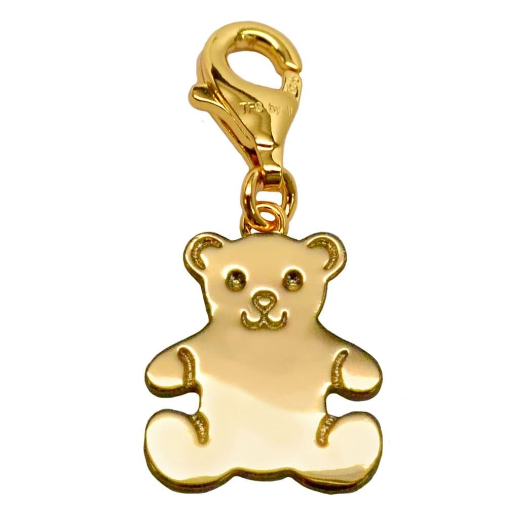 Julieta Jewelry Teddy Bear Clip-On Charm - Thumbnail 0