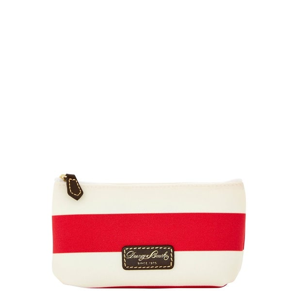 Dooney & Bourke Rugby Cosmetic Case (Introduced by Dooney & Bourke at $48 in Feb 2016) - Red