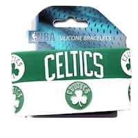 Boston Celtics Rubber Wrist Band (Set Of 2) Nba