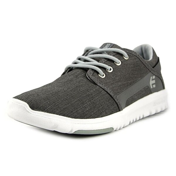 Etnies Scout Men Round Toe Canvas Gray Sneakers