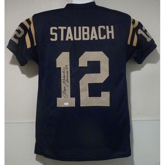 hot sale online 61508 35b9c Roger Staubach Autographed Navy Midshipmen size XL jersey wHeisman 63