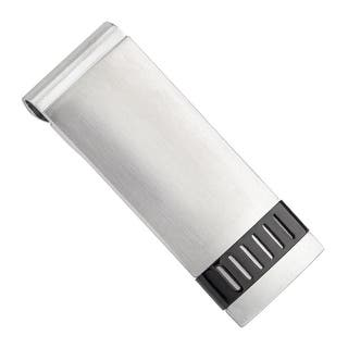 Dolan Bullock Polished Money Clip with Black Ion-Plated Bar in Stainless Steel - White|https://ak1.ostkcdn.com/images/products/is/images/direct/1df1fb735c1617adab69afa9abf5d006b6b9a9e8/Dolan-Bullock-Polished-Money-Clip-with-Black-Ion-Plated-Bar-in-Stainless-Steel.jpg?impolicy=medium
