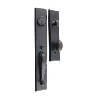 Miseno MHDW-HL110 Catalonia Solid Brass Single Cylinder Keyed Entry Handleset