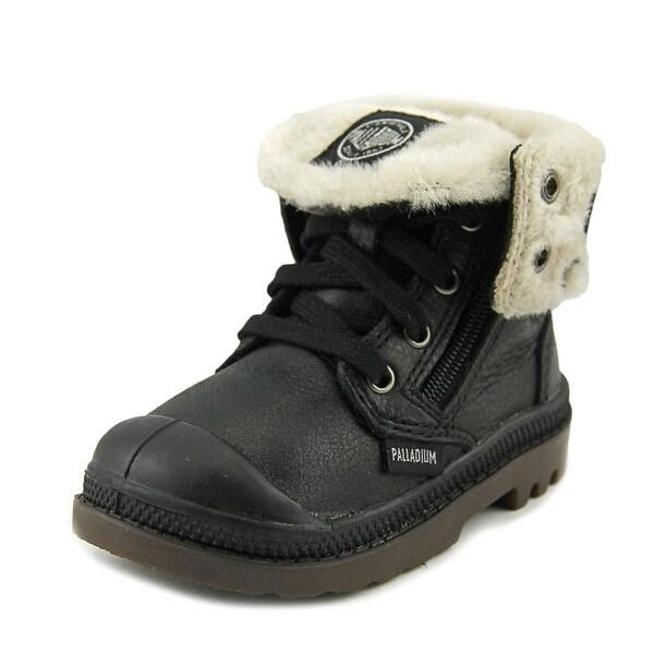Palladium Baggy Leather S Cap Toe Leather Boot