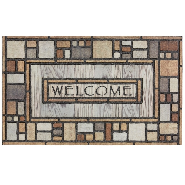 Mohawk Home Doorscapes Welcome Drifted Nature Door Mat. Opens flyout.