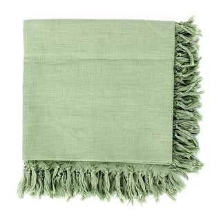 Kitchen Dining Tablecloth Table Cover 130 x 130cm Green