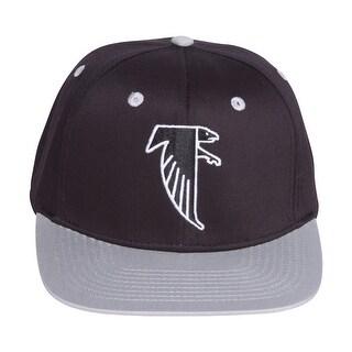 Atlanta Falcons Black/Grey Two Tone Plastic Snapback Adjustable Cap