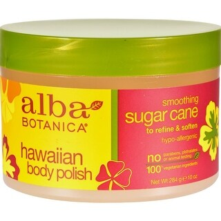 Alba Botanica - Hawaiian Body Polish Sugar Cane ( 2 - 10 OZ)