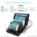 Skiva StandCharger (7-Port / 84W / 16.8A) Desktop USB Fast Charging Station Dock with SmartIC for iPhone, iPad, Samsung Galaxy - Thumbnail 7