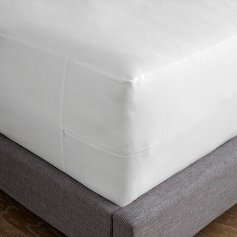 Martex Clean Essentials Antimicrobial Mattress Encasement - White