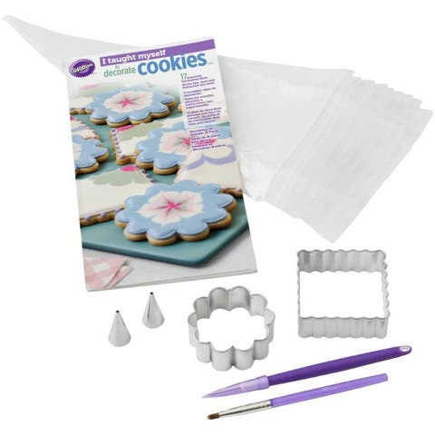 Wilton 2104-7553 I-Taught-Myself Amazing Cookie Decorating Book Set