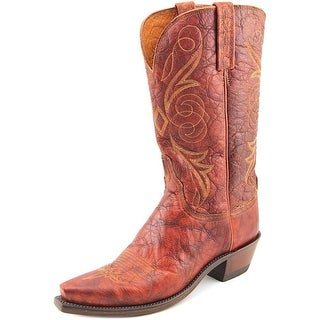 Lucchese N9633 Women C Pointed Toe Leather  Western Boot