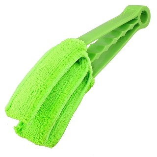 Office Slats Cleanig Microfibre Venetian Blind Cleaner Green