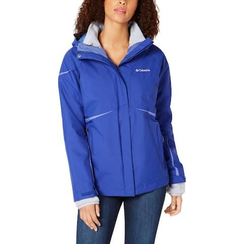 Columbia Womens Blazing Star Coat Hooded Fleece Lined - S