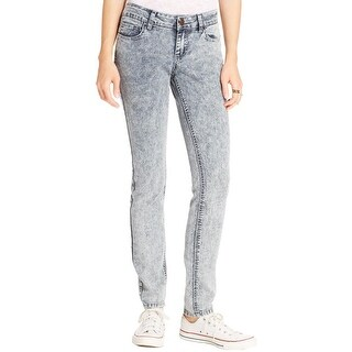 Indigo Rein Womens Juniors Skinny Jeans Denim Low Rise