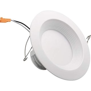 HomeSelects International 8135 BuilderSelects Single Light LED Recessed Retrofit - White