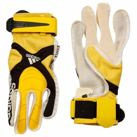 Adidas Mens Tunit Backhand +F50 Climaproof Soccer Athletic Gloves