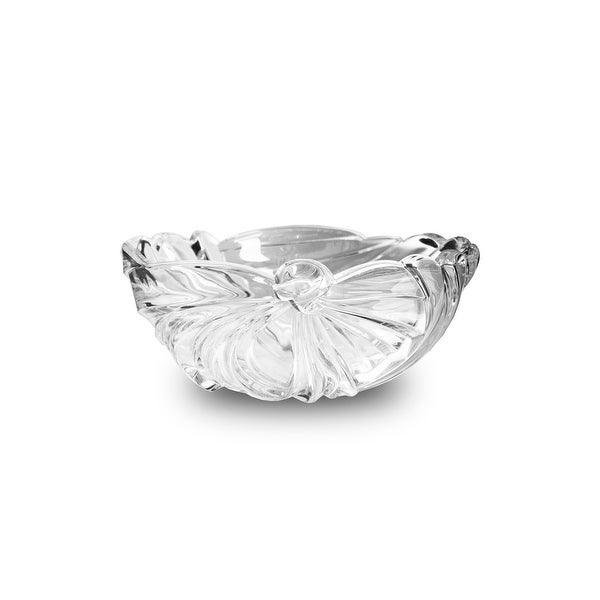 Studio Silversmiths Crystal Cecilia Bowl - 10.0 in. x 10.0 in. x 5.0 in.