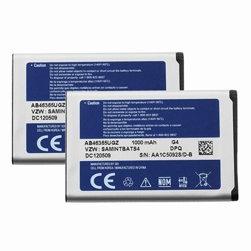 New Replacement Battery For SAMSUNG Intensity II Phone Model ( 2 Pack )