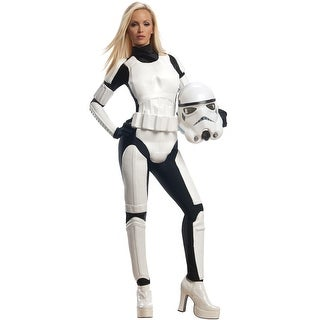 Rubies Stormtrooper Female Adult Costume - Solid