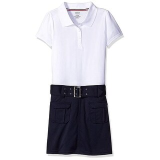 French Toast Girls 4-14 Belted Polo Dress (Option: 10)