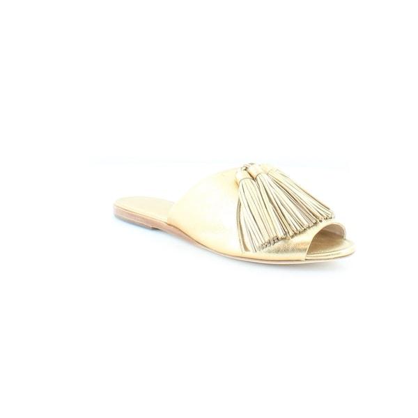 Loeffler Randall Kiki Women's Sandals & Flip Flops Gold/Gold - 6
