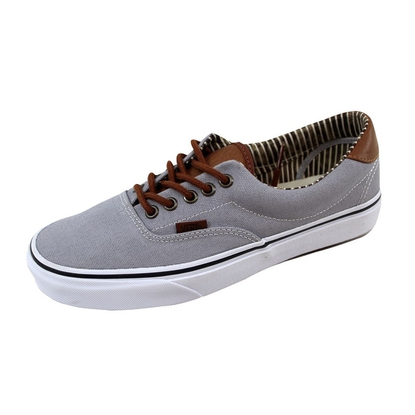 Vans Men's Era 59 Charcoal/True White VN0003S4IA7 Size 8