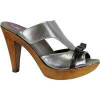 Helle Comfort Women's Nuria Sandal Silver Leather