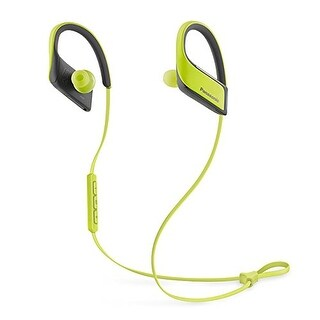 Panasonic Wings Wireless Bluetooth Sports Clip Headphones w/ Mic (Yellow)