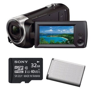 Sony HD Video Recording HDRCX405 HDR-CX405/B Handycam Camcorder (Black) /w Bundle