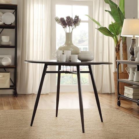 Belita Mid-century Two-tone Modern Wood Dining Table iNSPIRE Q Modern