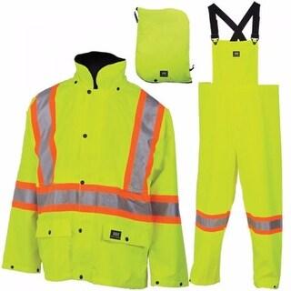 Helly Hansen Workwear Mens Waverley Packable Storm Suit - En 471 Yellow - XS