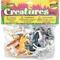 """Darice 1029-13 2"""" Plastic Creatures Jungle Animal - 12 Piece/Pack"""