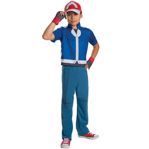 Rubies Deluxe Ash Child Costume - Blue