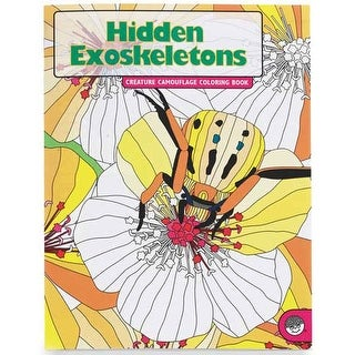 MindWare - Creature Camouflage Coloring Book - Hidden Fur Coloring Book