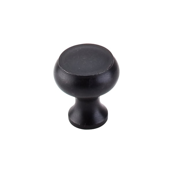 Top Knobs M608 Normandy 1-1/8 Inch Diameter Mushroom Cabinet Knob - patina black