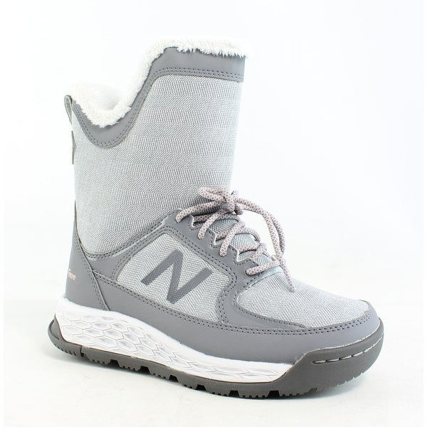 db74e8bf453d2 Shop New Balance Womens Grey Snow Boots Size 5 (C,D,W) - On Sale ...