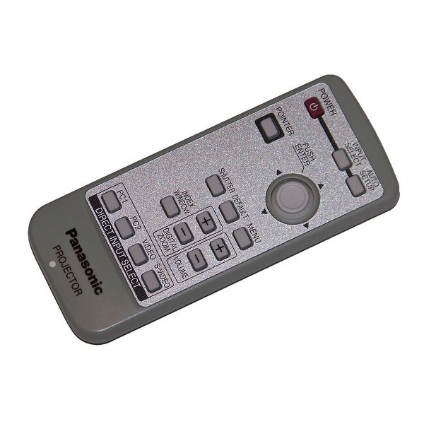OEM Panasonic Remote Control Originally Shipped With: PTLB50U, PT-LB50U, PTLB60U, PT-LB60U