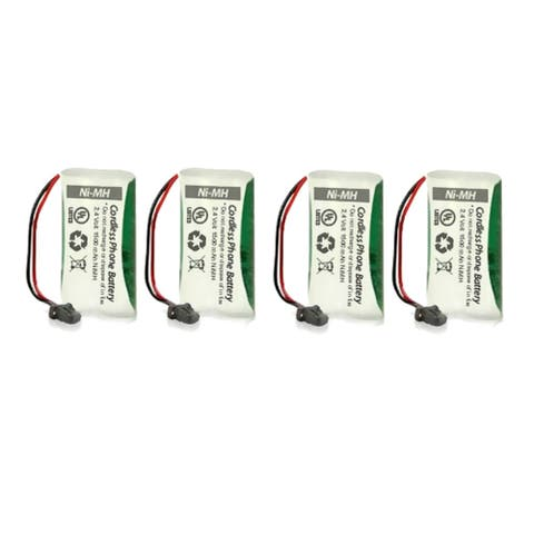 Replacement Uniden BT-1008 Battery (4 Pack) - White