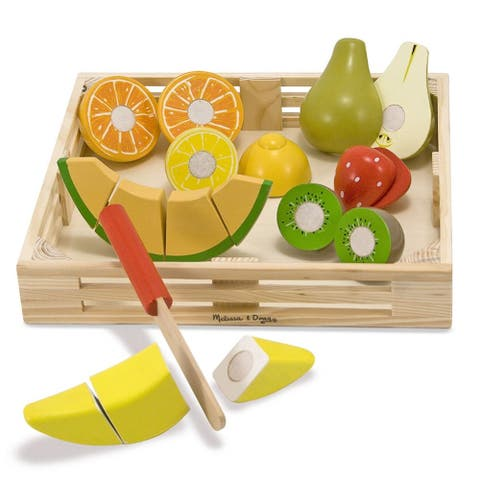 Cutting Fruit Wooden Play Food Set