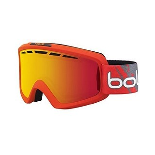 Bolle Unisex Nova Ii, Matte Red Gradient /Fire Orange , One Size - matte white and blue /aurora