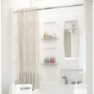 "Avano AV3140SEN Tub Enclosures 39-1/8"" Acrylic Shower Wall Bathtub for Alcove Installation"