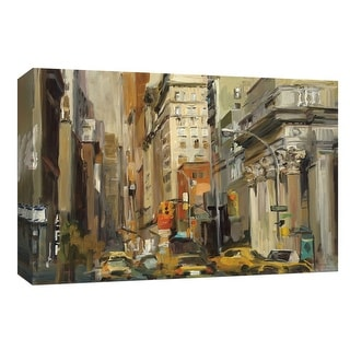 """PTM Images 9-153996  PTM Canvas Collection 8"""" x 10"""" - """"Union Square NY"""" Giclee New York Art Print on Canvas"""