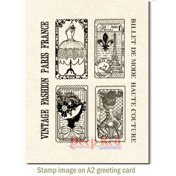 Bo Bunny Acrylic Stamp Blocks 2 by 2-Inch//2 by 3.25-Inch//4 by 5.5-Inch 3-Pack
