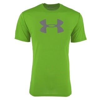 Under Armour Men's UA Big Logo T-Shirt - green/steel - M
