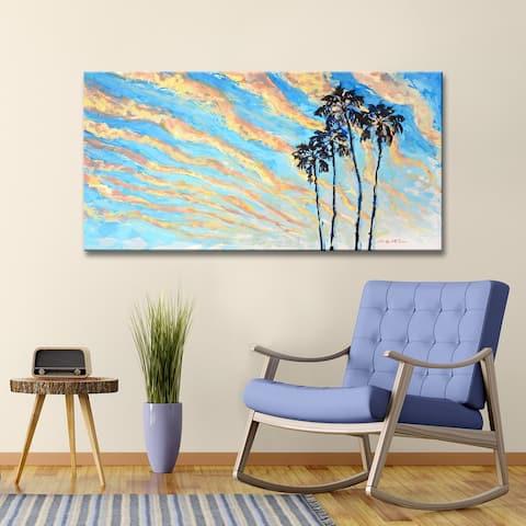 Porch & Den Magic Hour' Coastal Skyline Canvas Wall Art