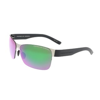 Porsche P8582-D Green Rectangle Sunglasses - 64-12-135
