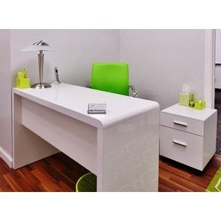 Safavieh Kaplan Modern White Desk - Free Shipping Today ...